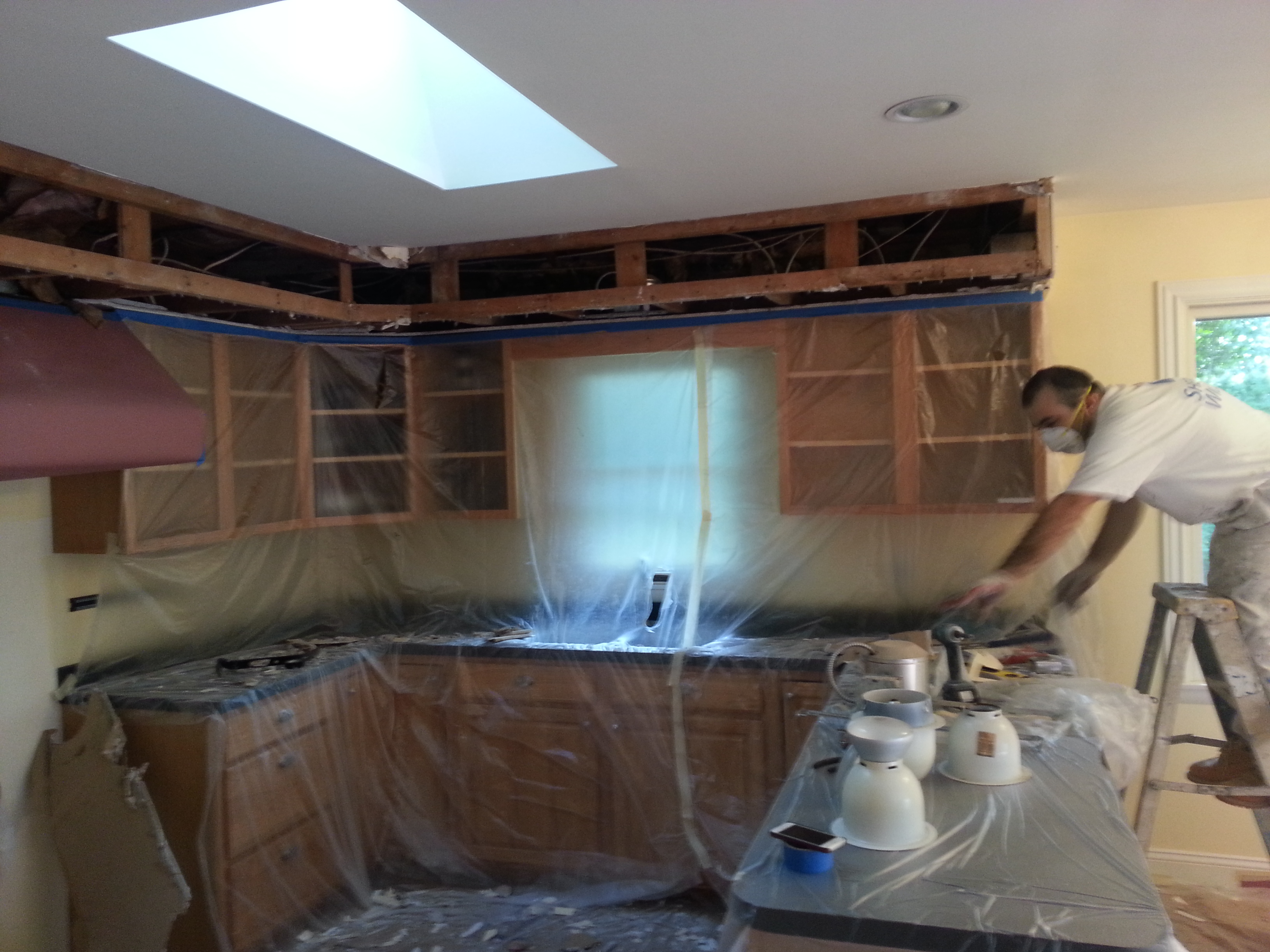 Kitchen Cabinet Painting and Remodeling in Moorestown, NJ - Cherry ...