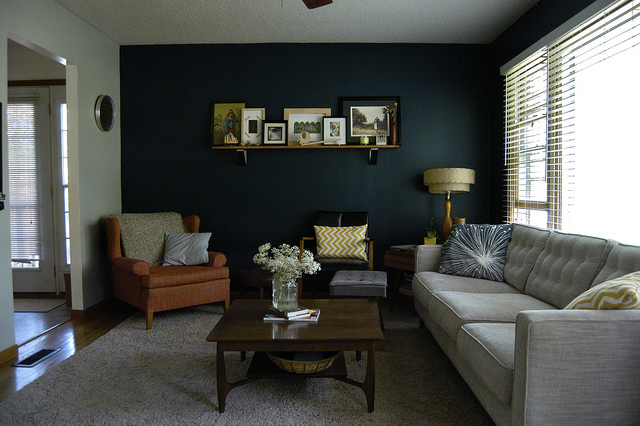 6 accents walls home decorating pros adore cherry hill Interior design painting accent walls