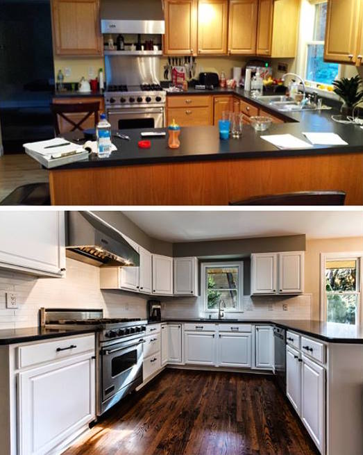 Kitchen Cabinet Painting In Nj Looking For A Stylish Color Cherry Hill Painting